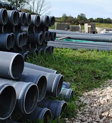 Études préalables par des experts en installations d'assainissement individuel à côté de Toulouse